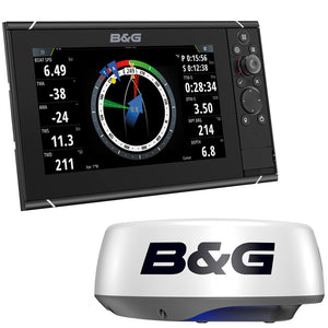 "BG Zeus3S 12 - 12"" MFD Bundle w/HALO20+ Radar"