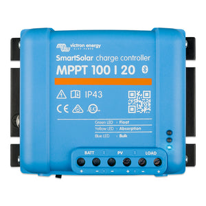 Victron SmartSolar MPPT 100/20 - Up to 48 VDC