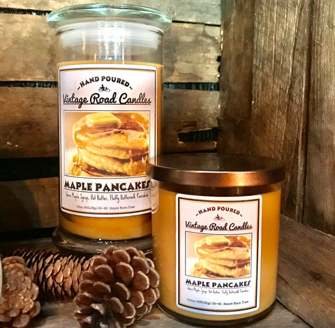 Maple Pancakes - Candle