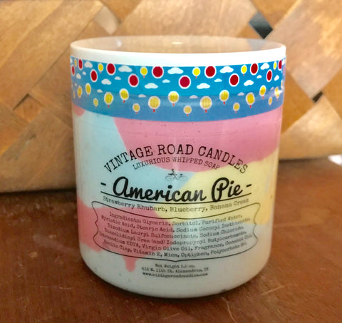 American Pie - Whipped Soap
