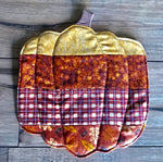Pumpkin Warmer/Candle Mats