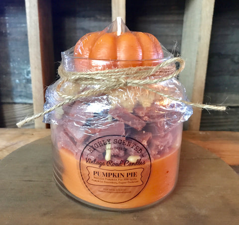 Pumpkin Pie - Triple Layered Candles