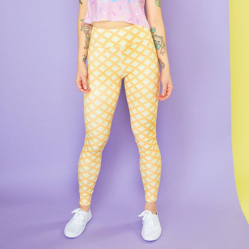 Waffle Cone Active Leggings