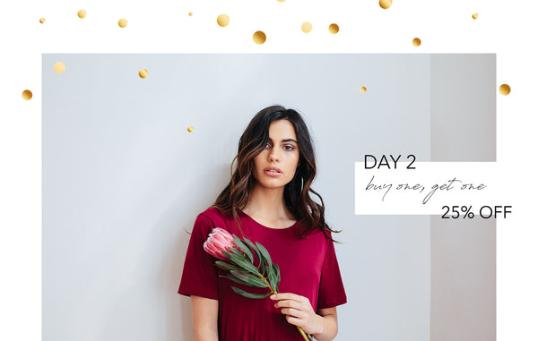 five days of festivities promo - Day 2