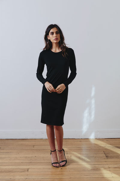 THE MUSE DRESS - Black