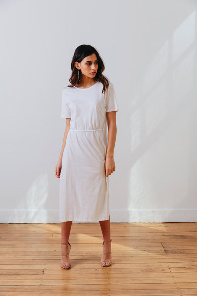 THE | WANDERER | DRESS – WHITE
