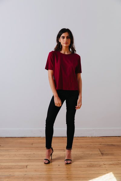 THE | WANDERER | TEE – BARCELONA BERRY