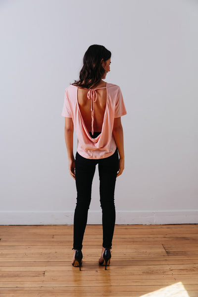 THE | WANDERER | TEE – SAHARA ROSE