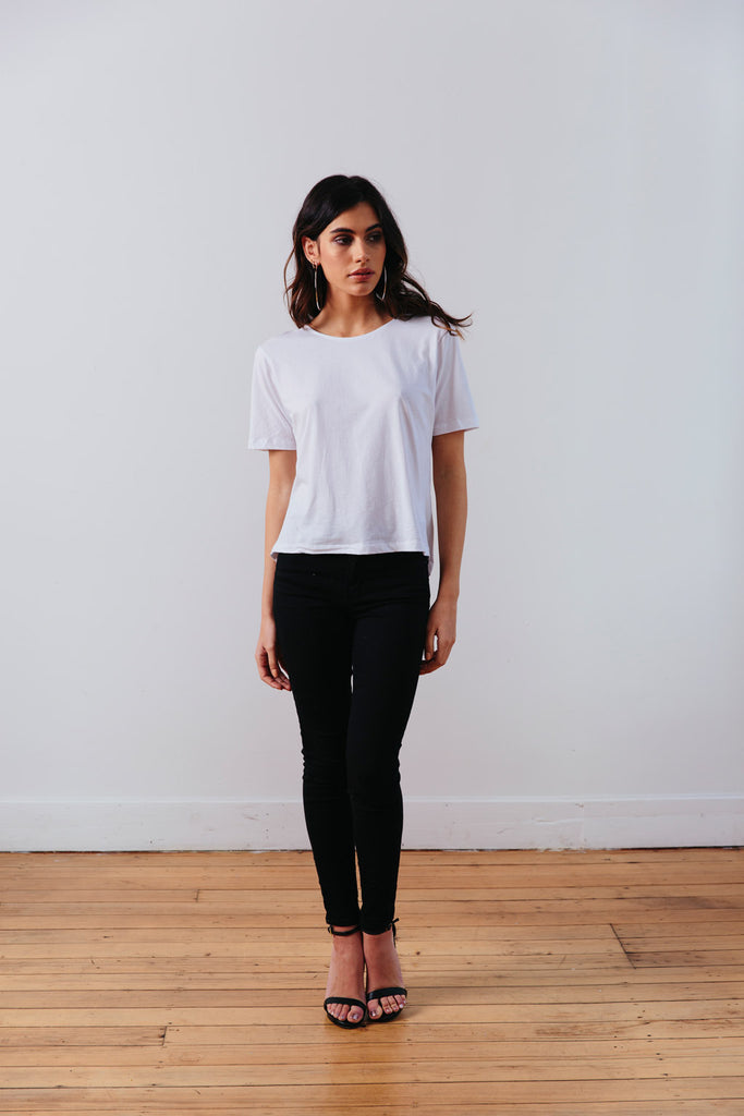 THE | WANDERER | TEE – WHITE