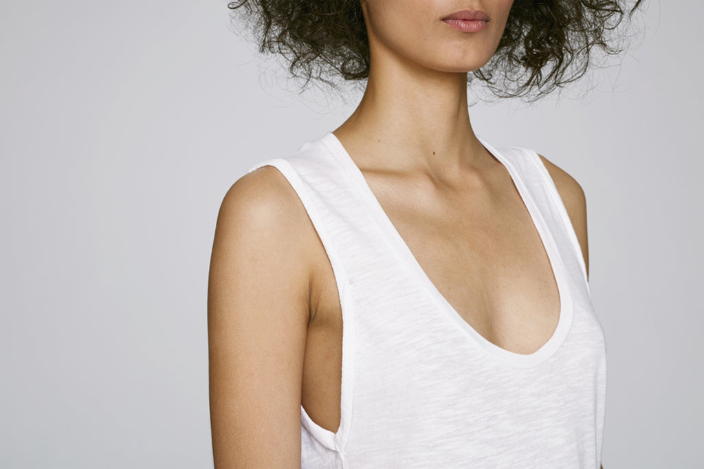THE | DOILLON | TANK – WHITE