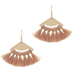 Nell Earrings - Blush