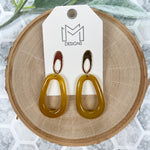 Myra Earrings - Mustard