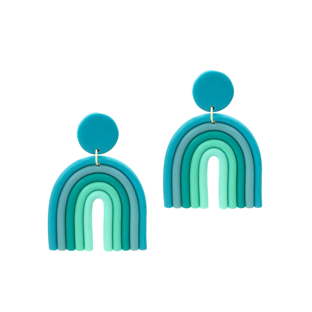 Bo Earrings - Turquoise
