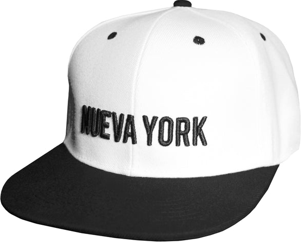 nueva york new york baseball black and white cap papa originals brooklyn nets  gorra casquette hat