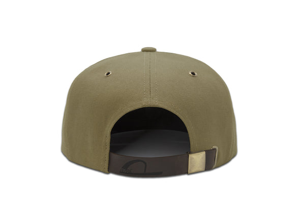 Papa Originals Khaki canvas Cap, luxury snapback, men's and women's premium baseball hat casquette gorra