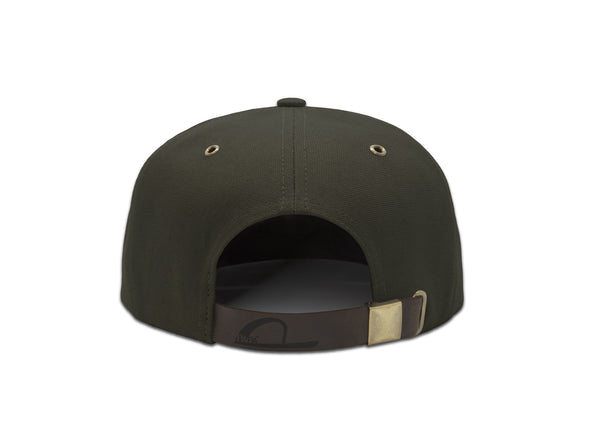 Papa Originals oss green canvas Cap, luxury snapback, men's and women's premium baseball hat