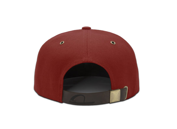 Papa Originals Red canvas Cap, luxury snapback, men's and women's premium baseball hat gorra casquette