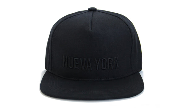 papa_originals_baseball_cap_all_black_nueva_york  gorra casquette hat front