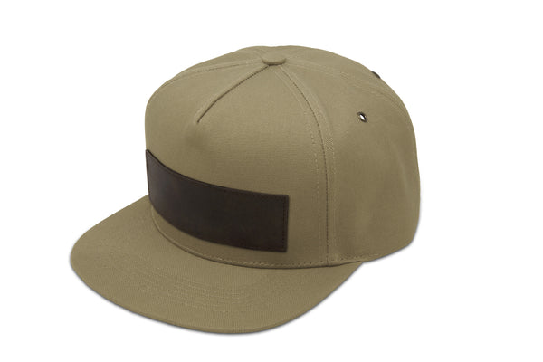 Papa Originals Khaki canvas Cap, luxury snapback, men's and women's premium baseball hat