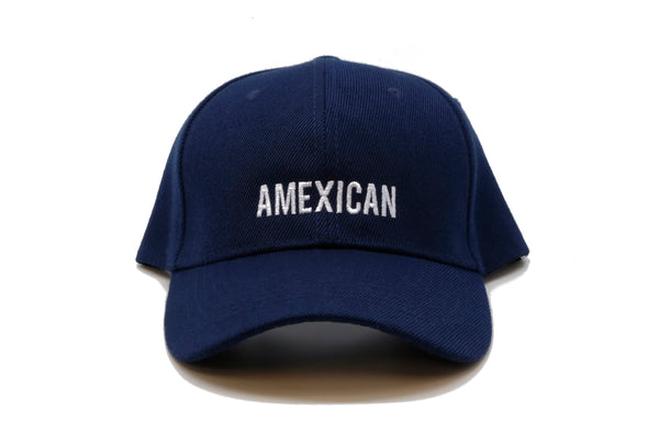 amexican baseball cap premium hat papa originals front blue hat casquette Mexico is the shit