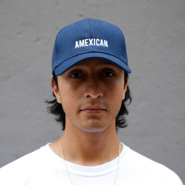 amexican baseball cap premium hat papa originals guy model blue hat casquette Mexico is the shit
