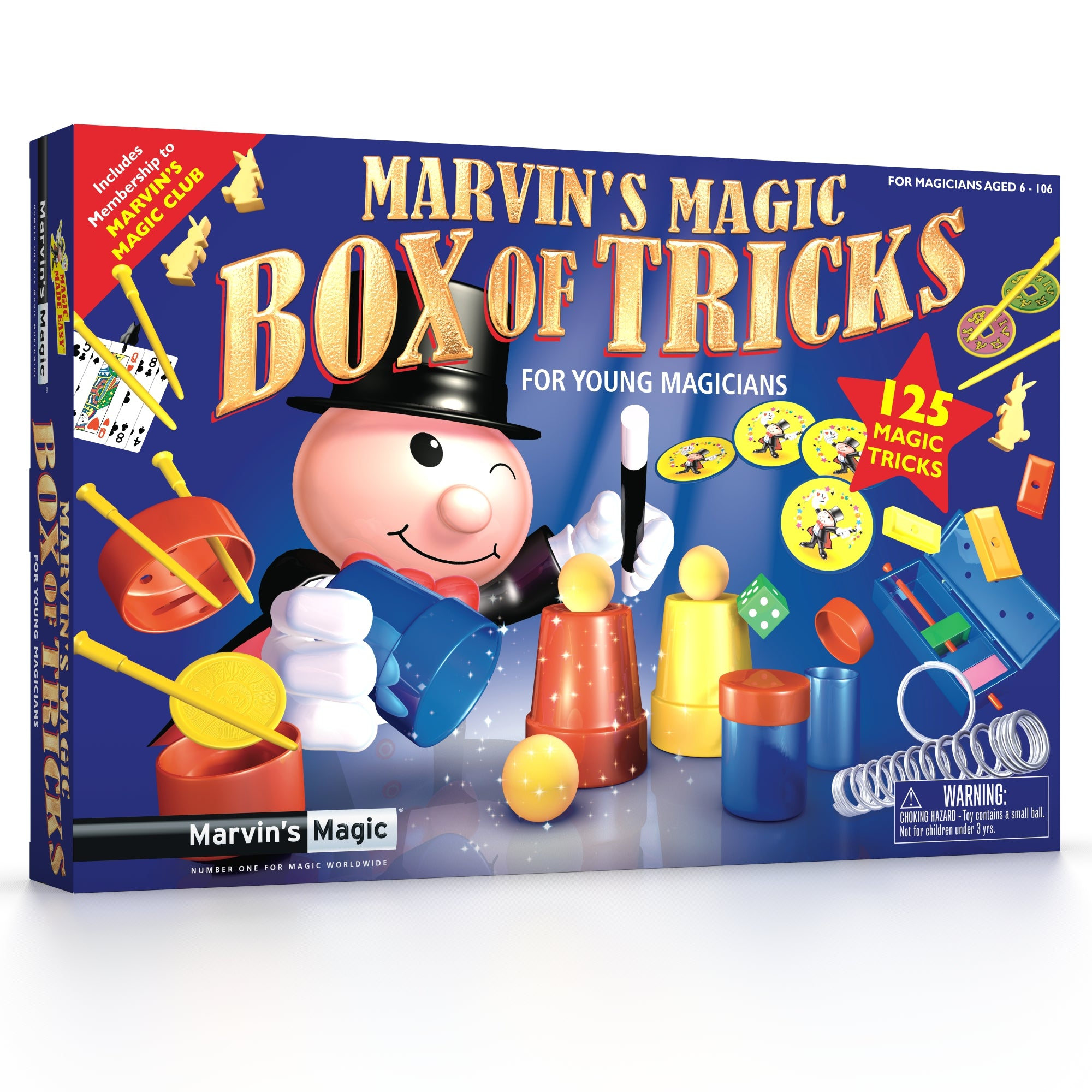 Marvins Magic - Marvin's Amazing Magic 125 Tricks