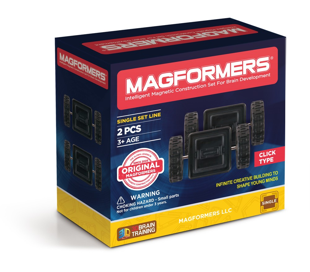 Magformers 2 Piece Wheel Set