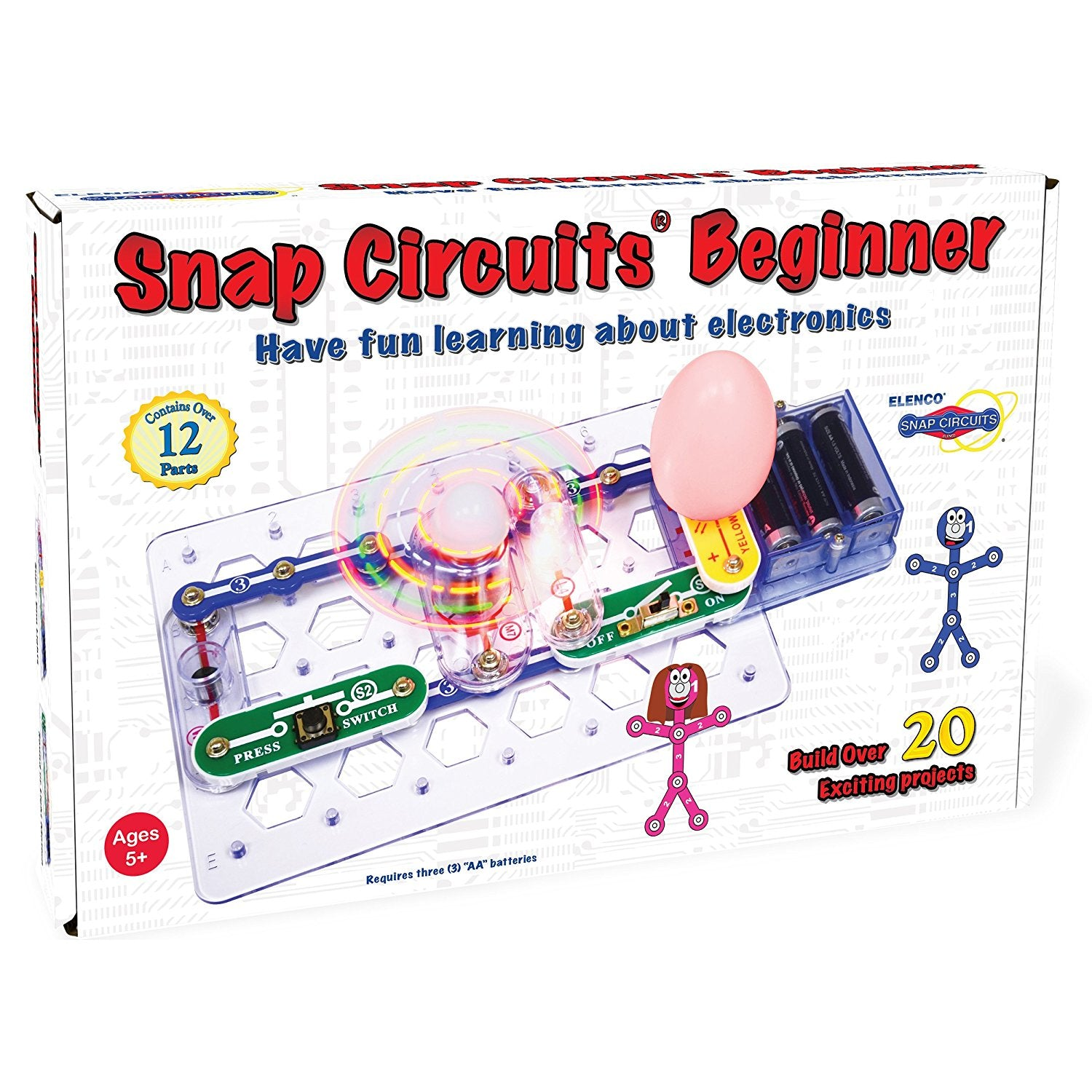Snap Circuits Light Bulb Diagram Trusted Wiring Diagrams Sound Kit Image One Xumpcom Beginner Tinkrlab Parts