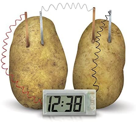 Potato Clock - tinkrLAB