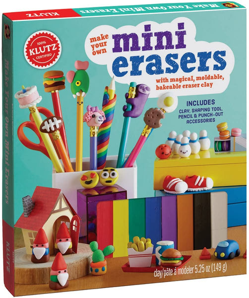 Make Your Own Mini Erasers - tinkrLAB