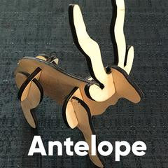 Wooden Puzzle - Antelope