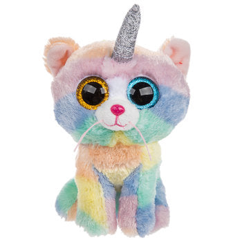"Beanie Boo - Unicorn Cat - ""Heather"""