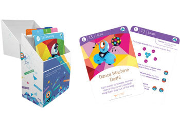 Dash and Dot - Challenge Cards