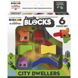People Blocks City Dwellers