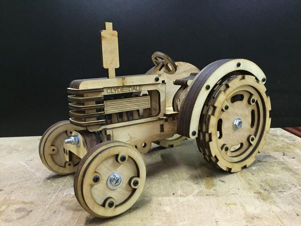 Construct A Truck - Tractor Kit - tinkrLAB
