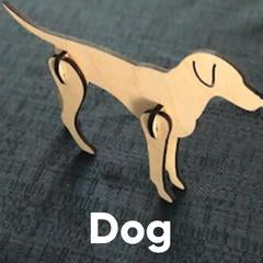 Wooden Puzzle - Dog