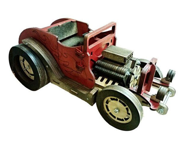 Construct A Truck - Flame Thrower Hotrod
