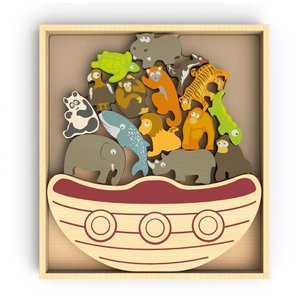 Balance Boat - Endangered Animals