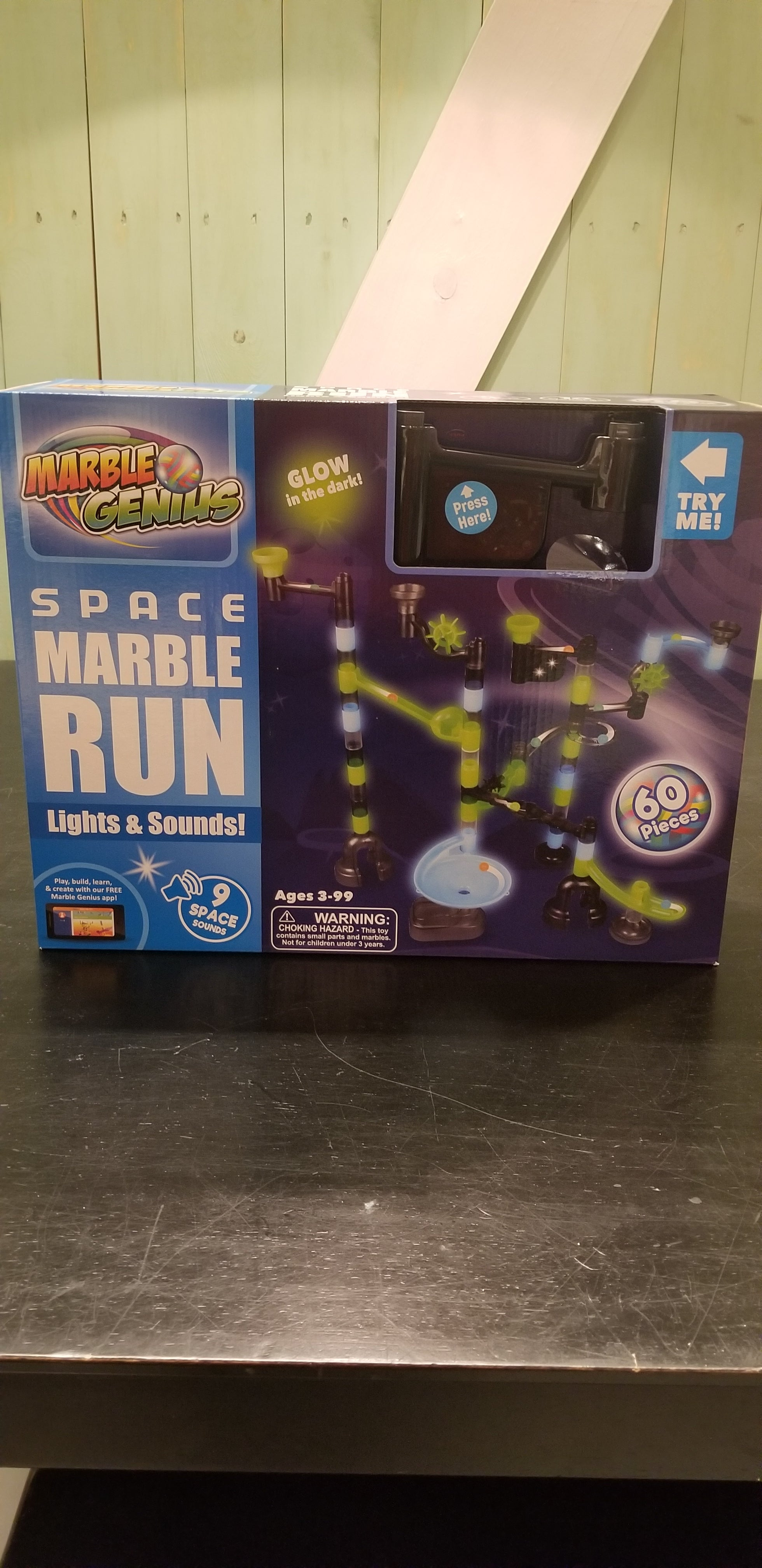 Space Marble Run Lights & Sounds (60 Pieces)