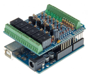 I/O Shield for Arduino: KA05