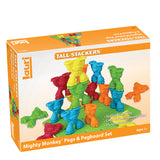 Lauri - Tall Stackers Mighty Monkey Pegs & Pegboard Set