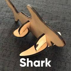 Wooden Puzzle - Shark