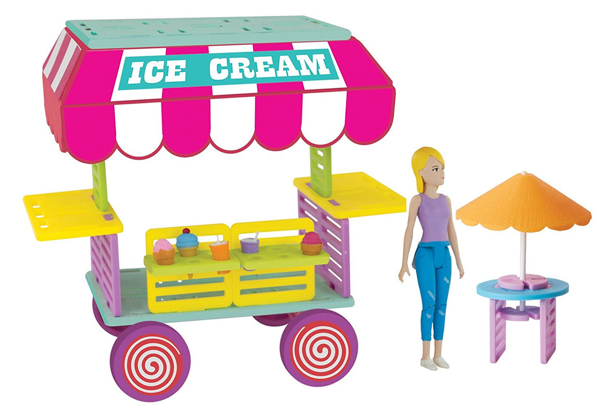 Roominate - Sophie's Ice Cream Cart