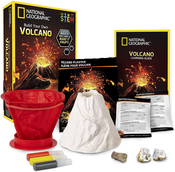 National Geographic - Build Your Own Volcano - tinkrLAB