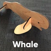 Wooden Puzzle - Whale - tinkrLAB