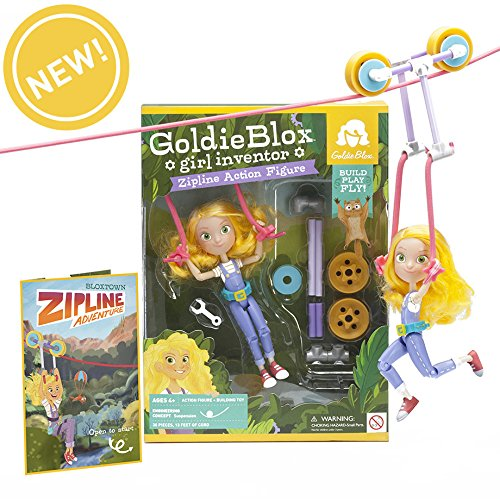 Goldie Blox - Zipline Action Figure