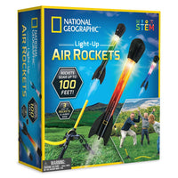 National Geographic - Light up Air Rockets - tinkrLAB