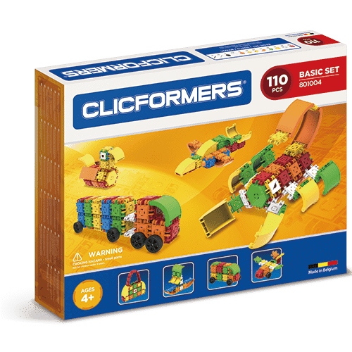 Clicformers 110 Piece Basic Set