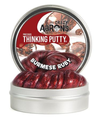 Burmese Ruby | Precious Thinking Putty