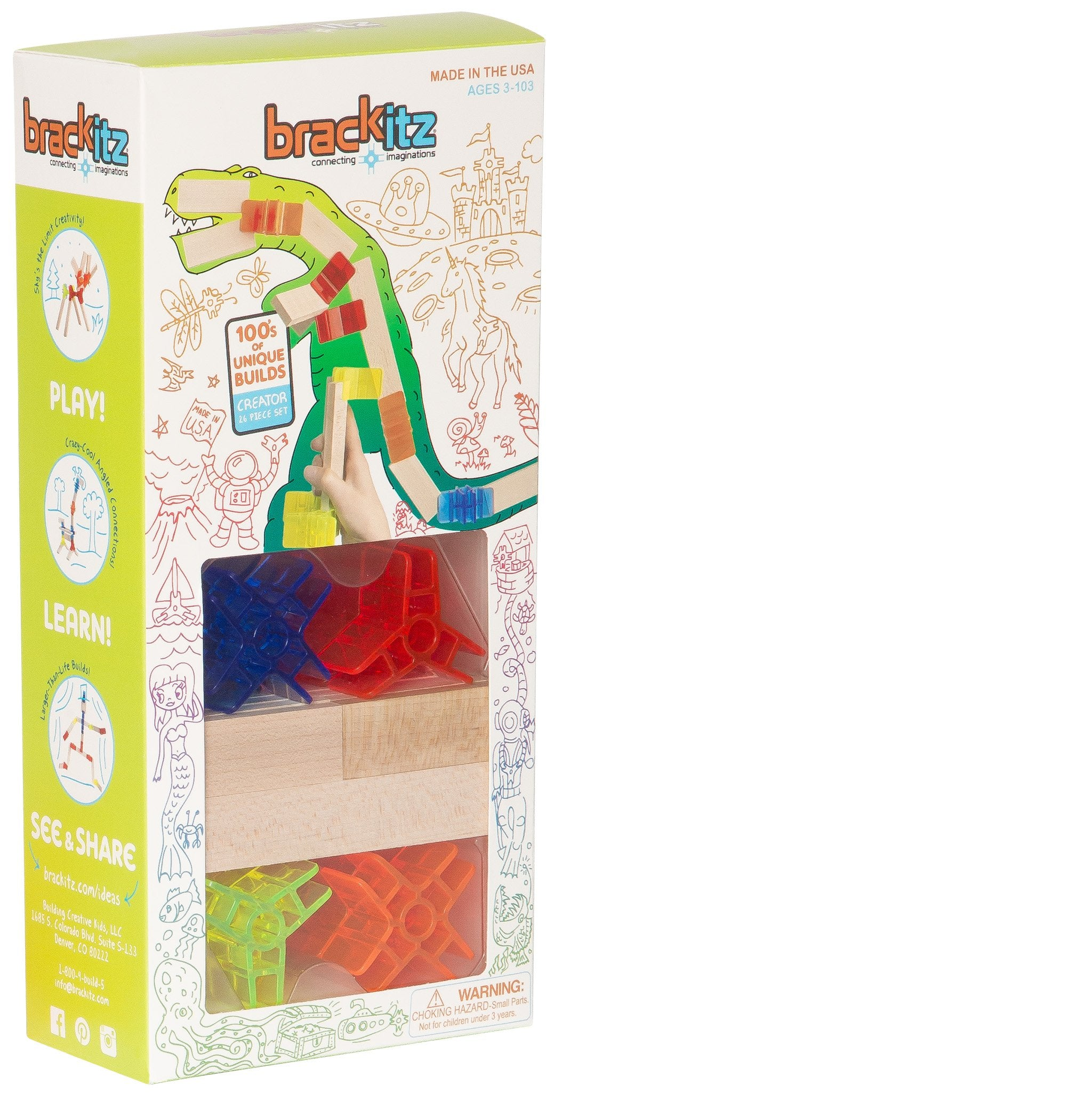 Brakitz Creator 26 Piece Set